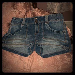 Maurice's jean shorts